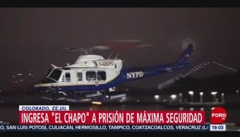 Foto: El 'Chapo' Guzmán Prision Colorado 19 Julio 2019