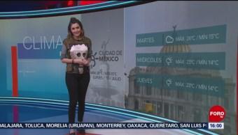 Clima A las Tres Daniela Álvarez 15 julio 2019