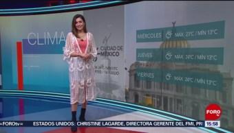Clima A las Tres Daniela Álvarez 16 julio 2019