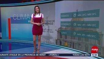 Foto: El Clima 'A las Tres' con Daniela Álvarez del 5 de julio de 2019
