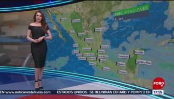 Clima con Mayte Carranco del 22 de julio de 2019