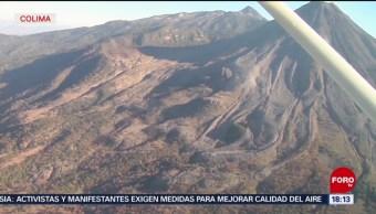 Foto: Elaborarán plan de seguridad para el Volcán de fuego de Colima