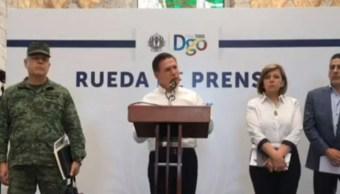 FOTO Emboscada a estatales deja 2 muertos en Durango, confirma el gobernador José Rosas Aispuro (FOROtv)