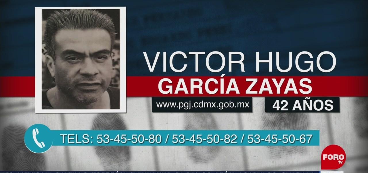 Emiten alerta por desaparición de Víctor Hugo García Zayas en CDMX