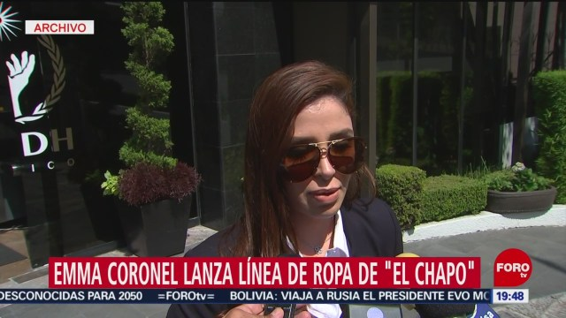 Foto: Emma Coronel Lanza Línea Ropa El Chapo 10 Julio 2019