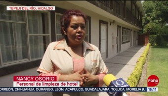 Empleada honesta regresa dinero que encontró en habitación de hotel