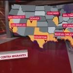 Foto: Ciudades de Estados Unidos Que Empezarán Redadas Contra Migrantes 12 Julio 2019