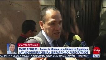 Foto: En periodo extraordinario, ratificación de Arturo Herrera: Mario Delgado
