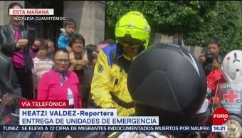 FOTO: Entregan unidades de emergencia en CDMX, 14 Julio 2019