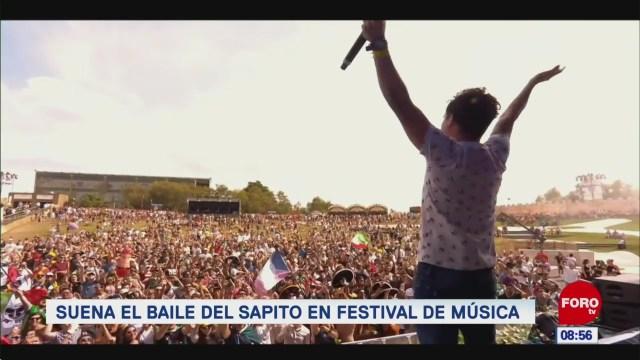 #EspectáculosenExpreso: Suena el baile del 'Sapito' en Festival de Música