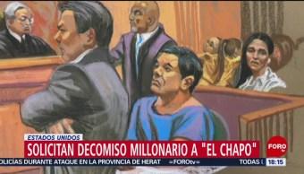 Foto: Estados Unidos solicita millonario decomiso a 'El Chapo' Guzmán
