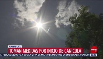 Foto: Inició Canícula Campeche 12 Julio 2019