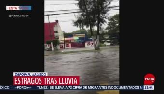 FOTO: Estragos tras lluvia en Zapopan, Jalisco, 14 Julio 2019