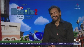 Eugenio Derbez dice que se ha convertido en héroe por los animales