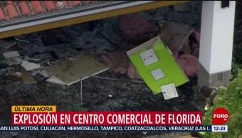 FOTO: Explosión en centro comercial de Florida, 6 Julio 2019