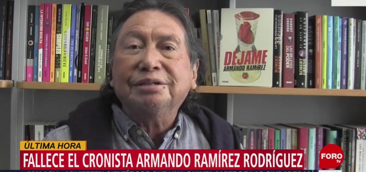 FOTO: Fallece el cronista Armando Ramírez Rodríguez