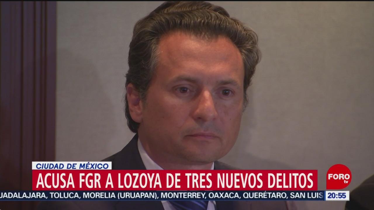 Foto: FGR Emilio Lozoya Nuevos Delitos 16 Julio 2019