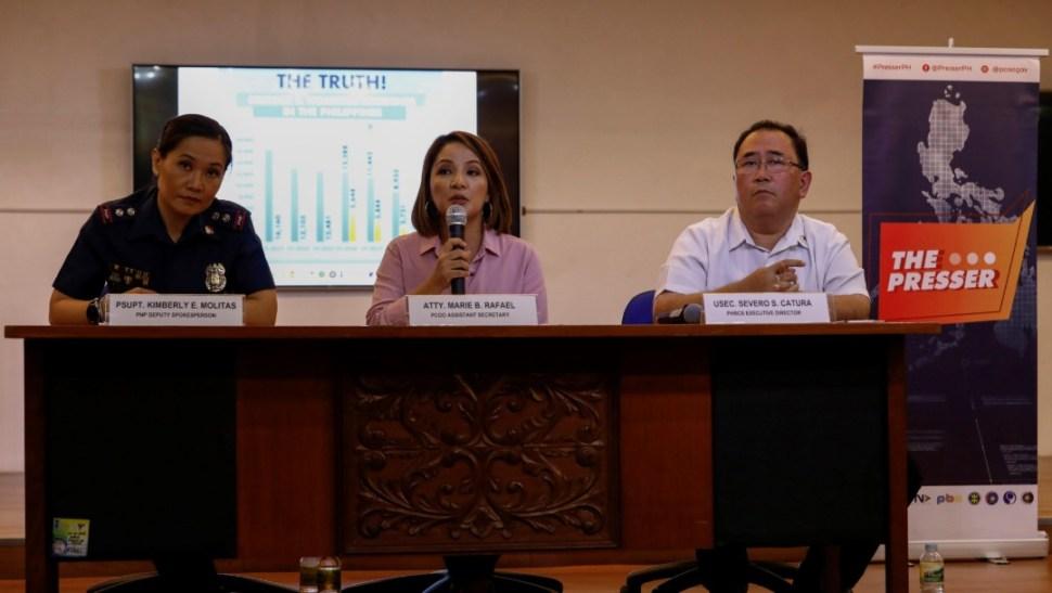 Foto: Informe sobre lucha antidrogas en Filipinas, 18 de julio de 2019, Manila