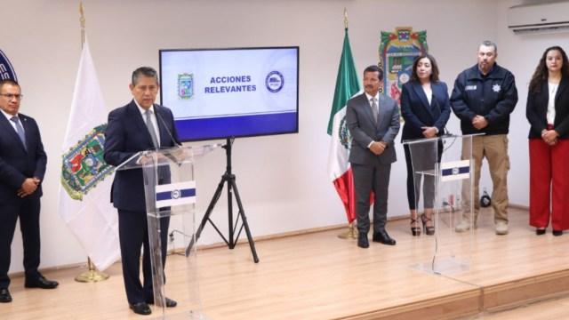 """Foto: Informaron sobre la detención de Ricardo Abraham """"N, presunto asesino del menor Santiago, en hechos ocurridos en el mes de mayo, 31 de julio de 2019 (Twitter @FiscaliaPuebla)"""