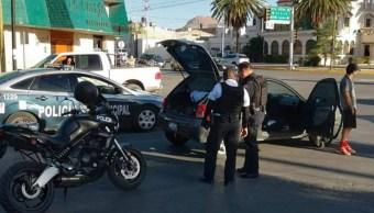 Foto: Agentes de la Policía Municipal de Chihuahua detuvieron a los supuestos secuestradores