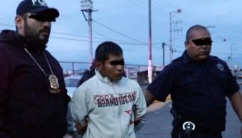 """Foto: Agentes ministeriales detuvieron a Pedro """"N"""". El 4 de julio de 2019"""