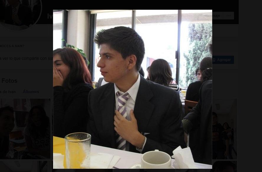Iván Lugo Serrano, estudiante de la Universidad Panamericana (UP). Facebook/Iván Lugo Serrano