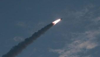 Foto: Corea del Norte prueba misiles de corto alcance. El 26 de julio de 2019. Reuters