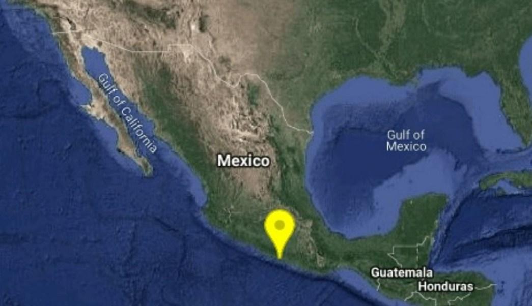 Se registra sismo en Guerrero.