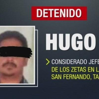 Cae 'El Ganso', presunto jefe zeta en San Fernando, Tamaulipas