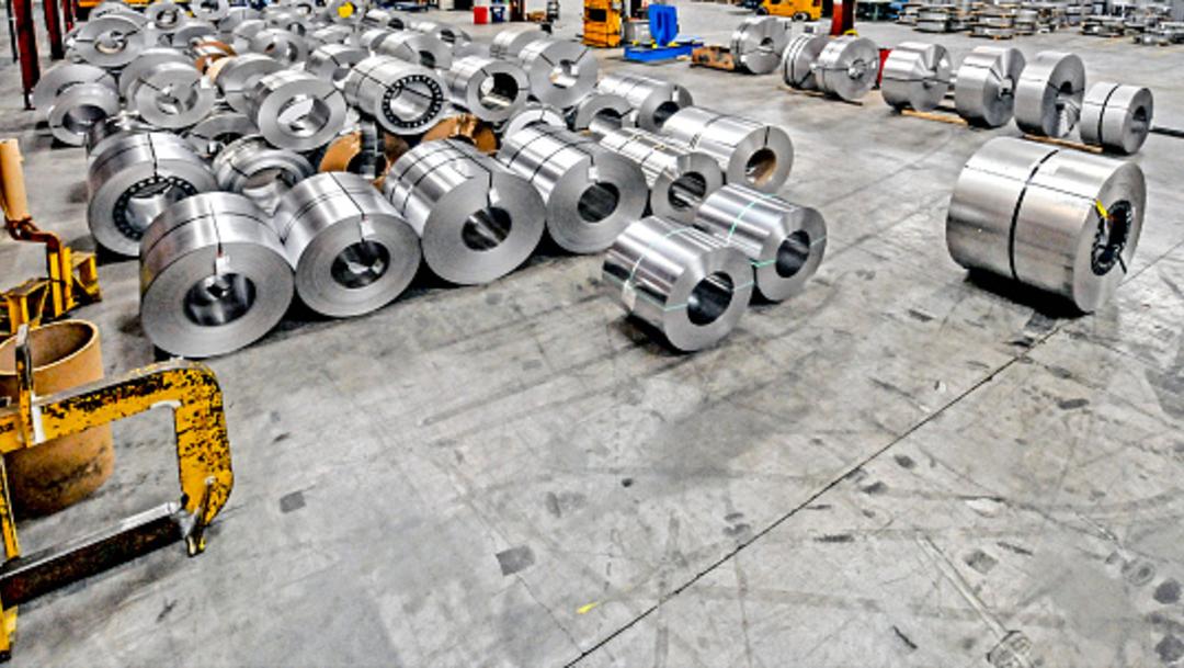Imagen: Uno de los aspectos a negociar será el arancel al acero, 18 de julio de 2019 (Getty Images, archivo)