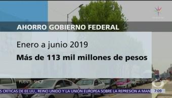 Gobierno de AMLO reporta 113 mil millones de dólares de ahorro