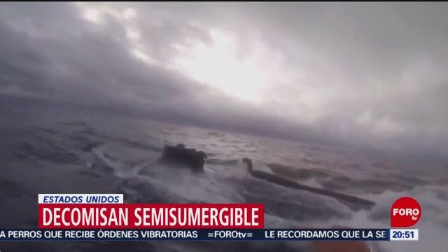 Foto: Guardia Costera Detiene Submarino Transportaba Droga 11 Julio 2019