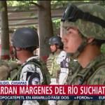 Foto: Guardia Nacional Resguarda Márgenes Río Suchiate 3 Julio 2019