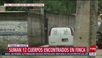 FOTO: Hallan 12 cuerpos en una finca en Tonalá, 20 Julio 2019