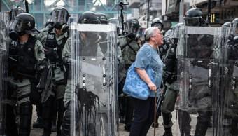 Manifestantes en Hong Kong convocan, este domingo, a nueva marcha