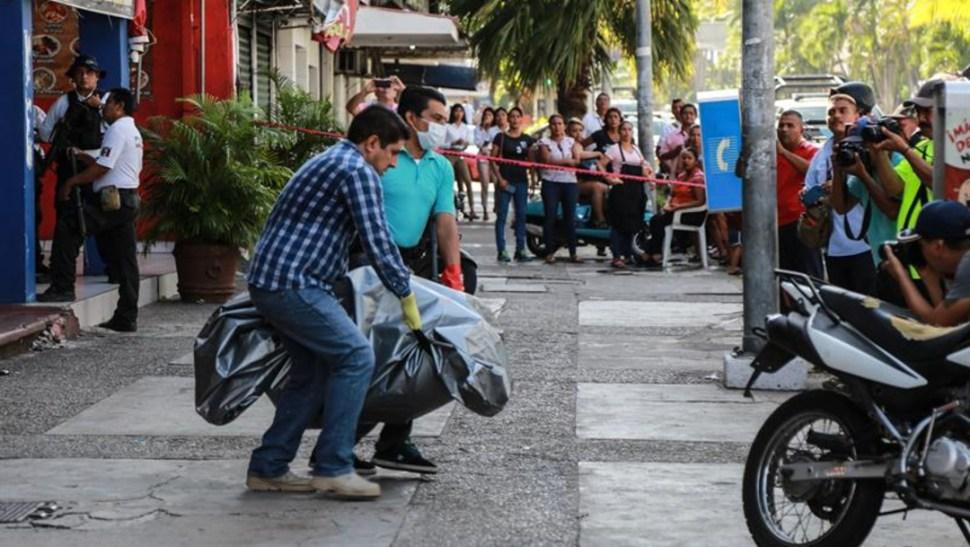 Foto: Los estados del país con las cifras más altas de homicidios dolosos son Baja California y Guanajuato, entre otros, el 21 de julio de 2019 (EFE)