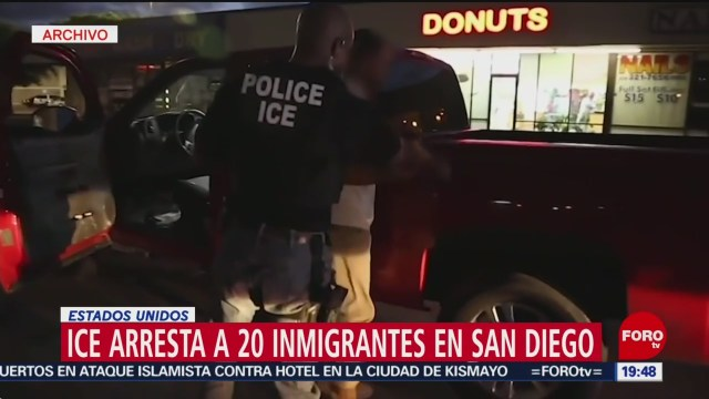 Foto: Detencion Migrantes ICE San Diego Estados Unidos 12 Julio 2019