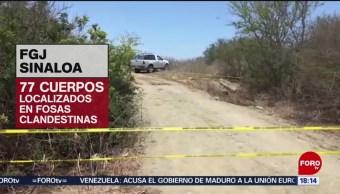 Identifican restos encontrados en fosas clandestinas