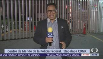 Inician actividades en el Centro de Mando de la Policía Federal