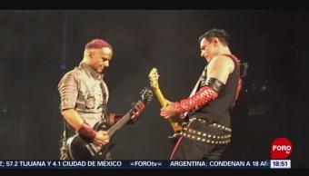 Integrantes de Rammstein se besan en protesta contra la homofobia