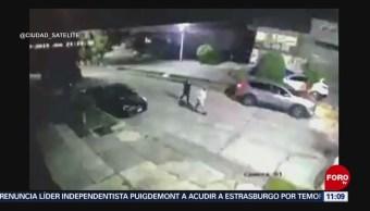 Intentan robar a conductor en Naucalpan, Edomex