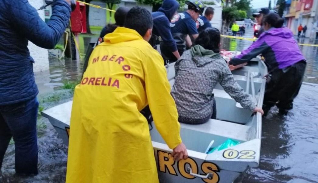 Inundación en Morelia, Michoacán