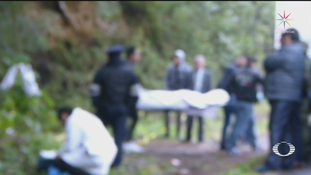 Foto: Investigan hallazgo de cuatro cuerpos en el Ajusco