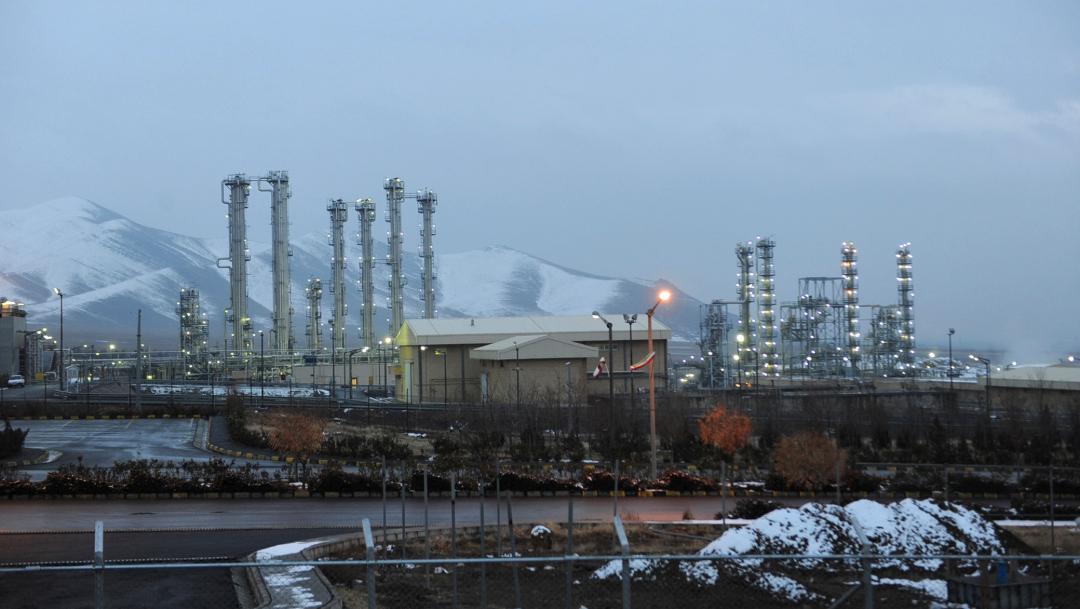 Fotografía de la instalación nuclear de agua pesada cerca de Arak, al suroeste de Teherán, Irán, 11 julio 2019