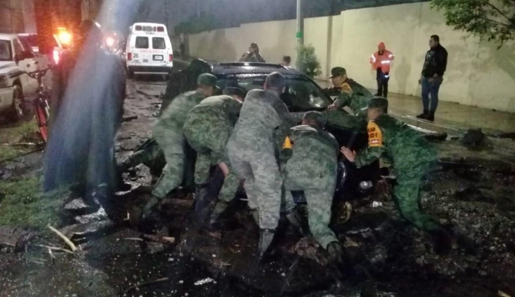 Lluvias provocan inundaciones en Tlajomulco de Zúñiga, Jalisco