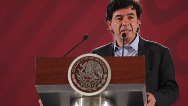 Foto: Jesús Ramírez, vocero del Gobierno de la República, 14 de mayo 2019. Twitter @JesusRCuevas