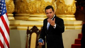 Piden renuncia del presidente de Guatemala tras firma de acuerdo de 'tercer país seguro' con EEUU