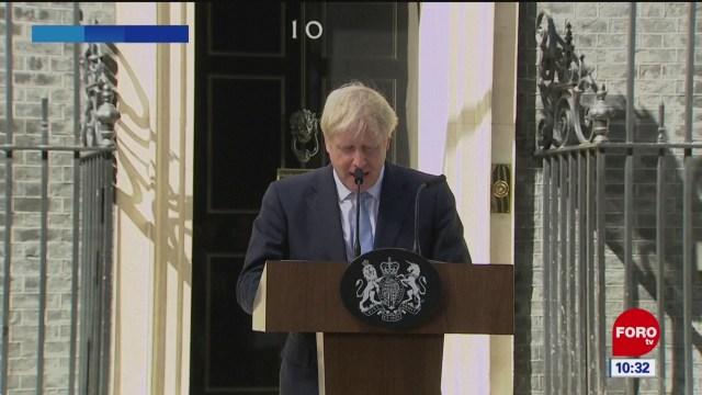 Johnson promete negociar mejor acuerdo sobre Brexit