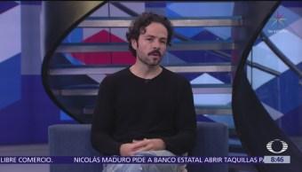 José María Torre platica del fin de temporada de 'Amar sin ley'