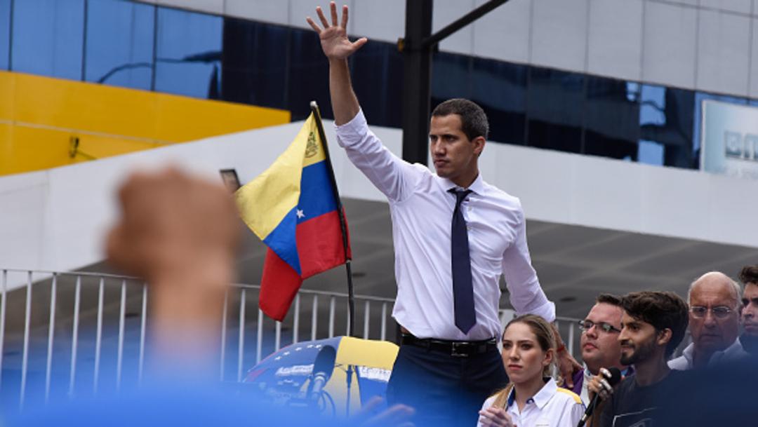 Imagen: Guaidó anunció este domingo que promoverá el Tratado de Río, 7 de julio de 2019, (Getty images, archivo)